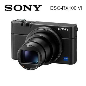(福利品)索尼SONY RX100M6類單眼相機-黑