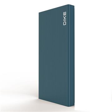 DIKE 10000mAh TypeC 雙向快充行動電源 - 藍色