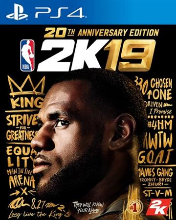PS4 NBA 2K19 20週年特別版 (中文版)