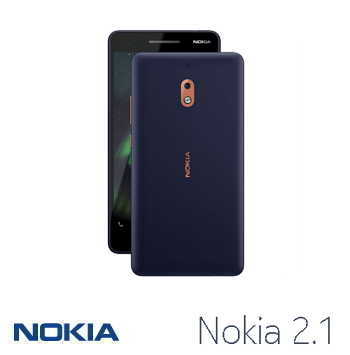 【1G / 8G】NOKIA 2.1 5.5吋Android Go智慧型手機 - 藍色