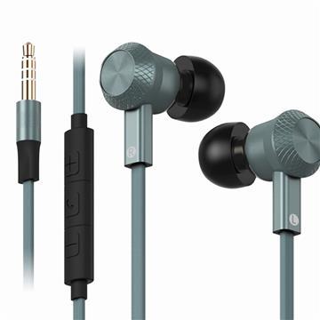 DIKE DE241超重低音電競入耳式耳麥-灰