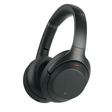 索尼SONY WH-1000XM3 無線藍牙降噪耳機 黑