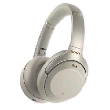 SONY索尼 無線藍牙降噪耳機 銀