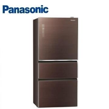 (福利品)Panasonic 500公升玻璃三門變頻冰箱