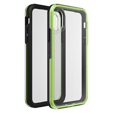 【iPhone XR】LifeProof 防摔殼SLAM - 黑綠