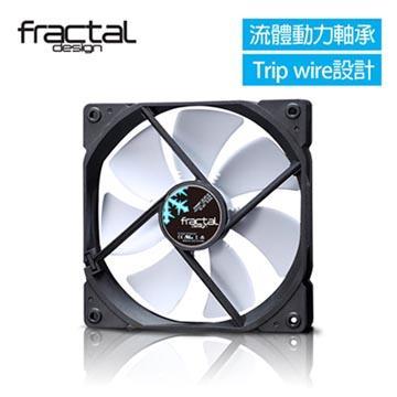 瑞典Fractal Design X2 GP-14 靜音風扇-白