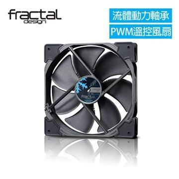 瑞典Fractal Design HP-14 PWM 靜音扇-黑