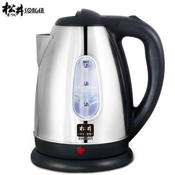 【福利品】松井2L附水位表不鏽鋼快煮壺
