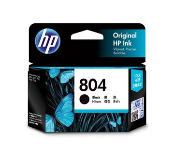 HP 804 黑色原廠墨水匣