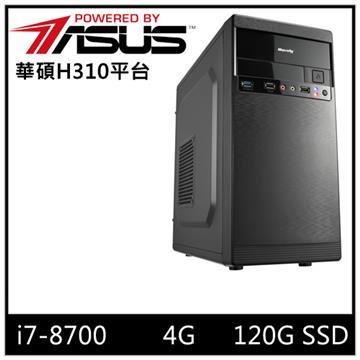 華碩平台[水晶風雲]i7六核SSD電腦