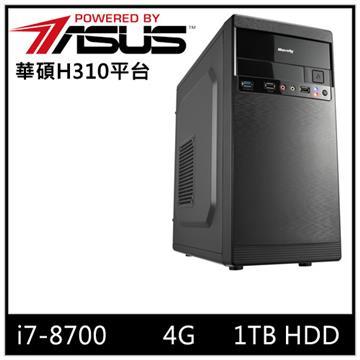 華碩平台[水晶勇士]i7六核電腦