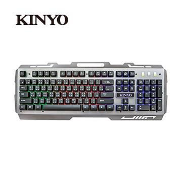 (福利品)KINYO GKB-2000 USB懸浮電競發光鍵盤