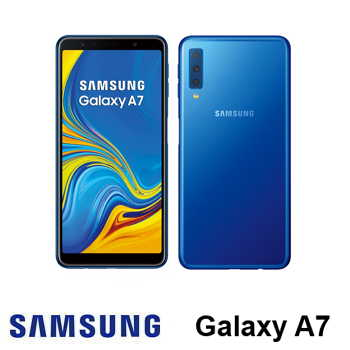 【福利品】-SAMSUNG Galaxy A7 藍