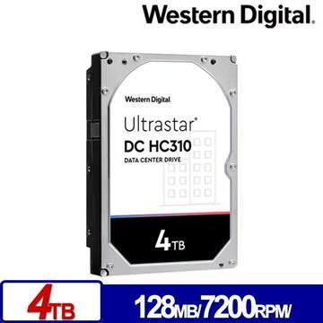 WD威騰 3.5吋 4TB Ultrastar DC HC310企業硬碟(HUS726T4TALA6L4(0B35950))