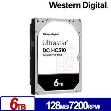 WD威騰 3.5吋 6TB Ultrastar DC HC310企業硬碟 HUS726T6TALE6L4(0B36039)