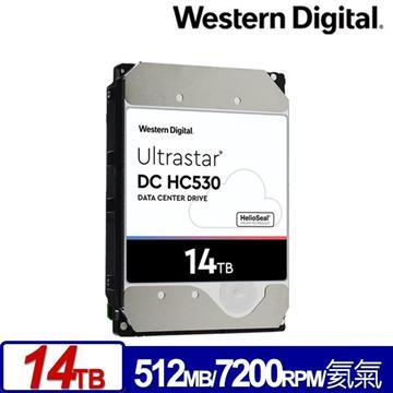 WD 3.5吋 14TB Ultrastar DC HC530企業硬碟