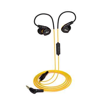 Hawk S300防水運動型耳機麥克風-黃