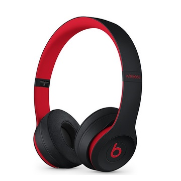 Beats Solo3 耳罩式無線耳機-黑紅