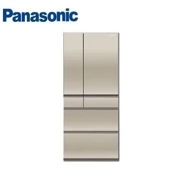 【福利品】Panasonic 550公升六門變頻玻璃冰箱