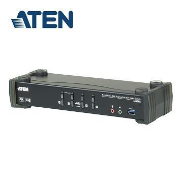 ATEN 4埠 MST KVMP多電腦切換器(CS1924M)