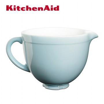KitchenAid 5Q陶瓷攪拌盆-粉藍