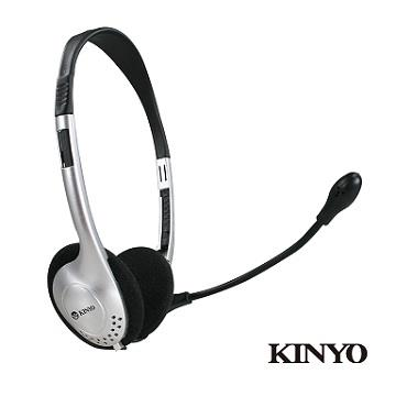 KINYO 頭戴式耳機麥克風