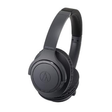鐵三角 SR30BT耳罩式藍牙耳機-黑