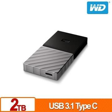 【2TB】WD My Passport SSD 外接式固態硬碟
