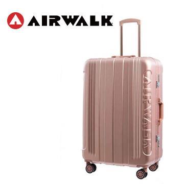 AIRWALK 金屬森林20吋鋁框行李箱(玫銅金)