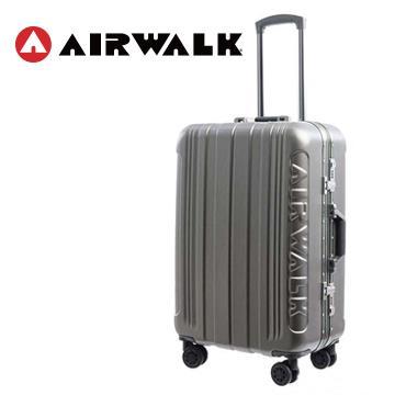 AIRWALK 金屬森林20吋鋁框行李箱(碳鑽灰)