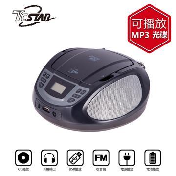 T.C.STAR USB手提CD音響(TCS1540BK)
