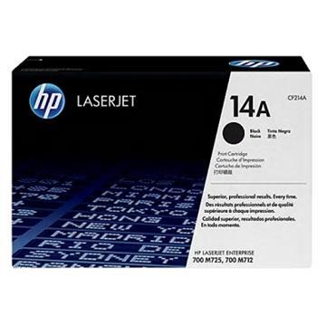 (客訂商品)惠普HP 14A 黑色原廠 LaserJet 碳粉匣