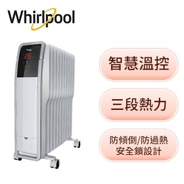 惠而浦 11片葉片電子式電暖器