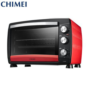 奇美CHIMEI 26L 家用旋風電烤箱-紅