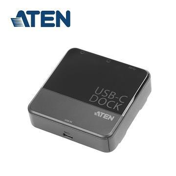 ATEN USB-C轉HDMI雙螢幕擴充基座