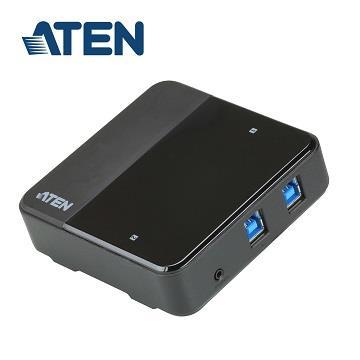ATEN 2*4埠USB 週邊分享切換器