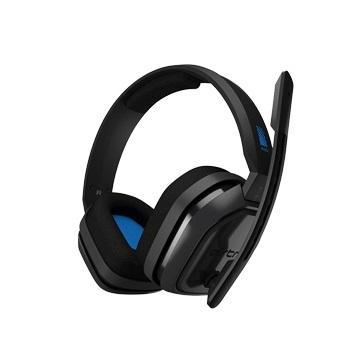 羅技 ASTRO A10 電競耳機麥克風-熾藍