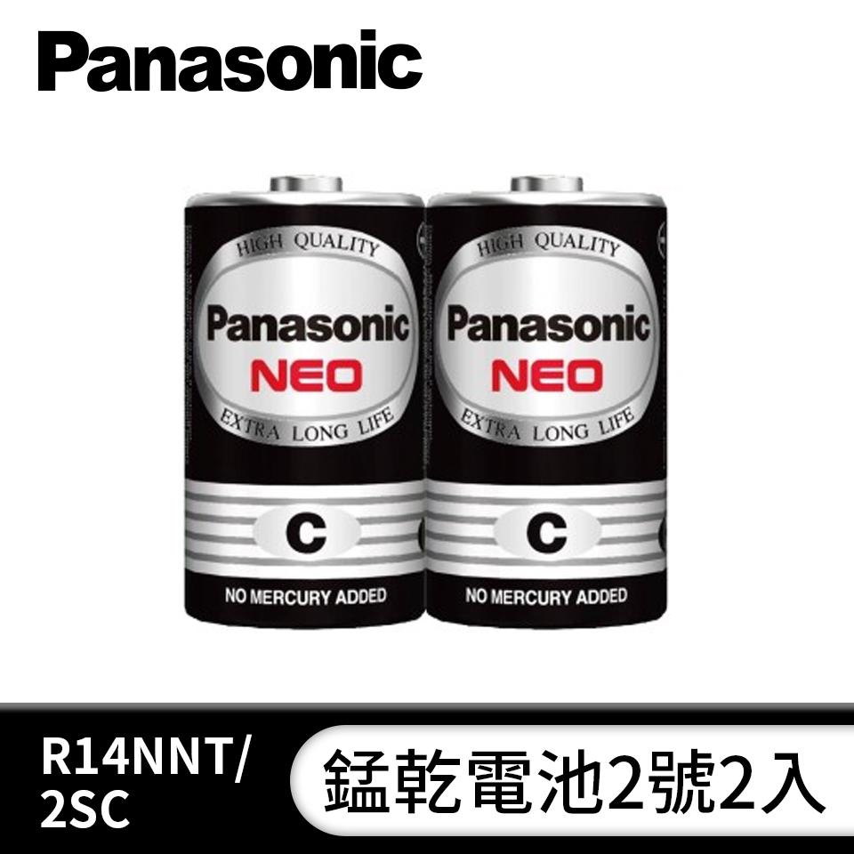 國際牌Panasonic 錳乾電池2號2入