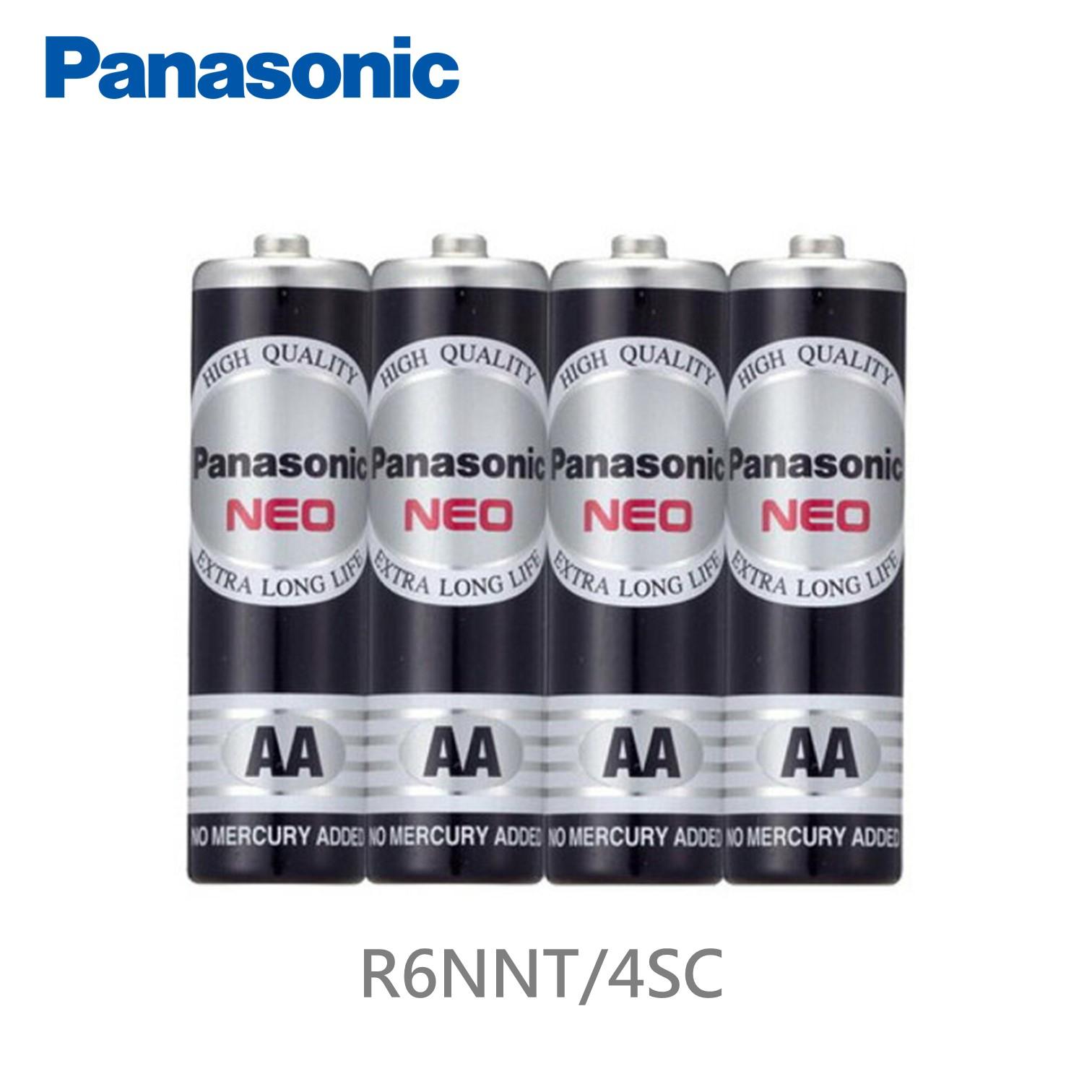 Panasonic 錳乾電池3號4入