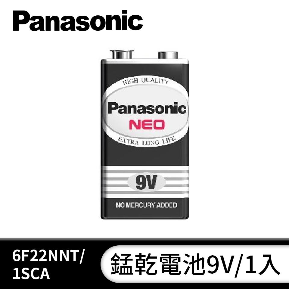 國際牌Panasonic 錳乾電池9V/1入