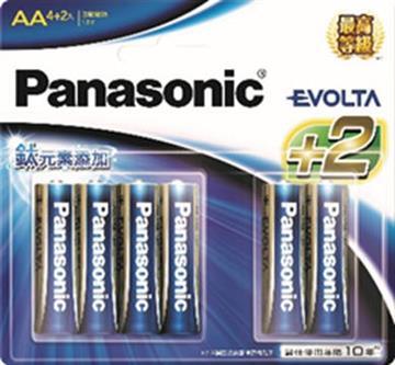 國際牌Panasonic EVOLTA鈦元素電池3號6入