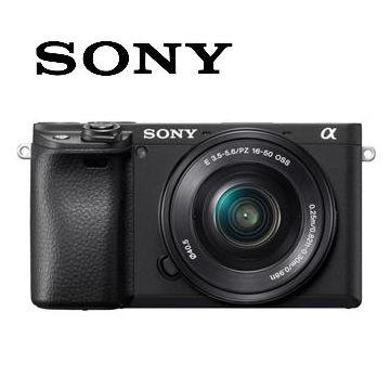索尼SONY α6400L可交換式鏡頭相機 KIT 黑