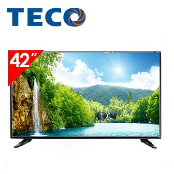 東元TECO 42型 FHD 低藍光顯示器+視訊盒