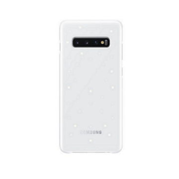 SAMSUNG Galaxy S10+ LED智能背蓋-白 EF-KG975CWEGTW