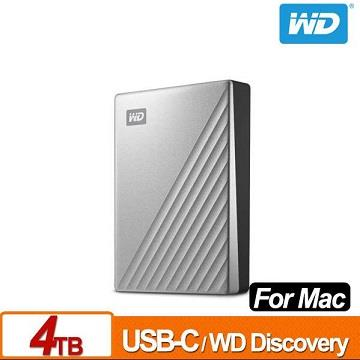 WD 2.5吋 4TB行動硬碟My Passport UltraMac