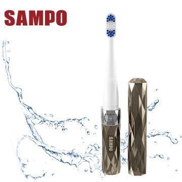 SAMPO 時尚型音波震動牙刷(鐵灰)