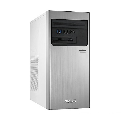 (福利品)ASUS華碩 桌上型電腦(i5-8400/GTX1050/8GD4/256G+1T) H-S640MB-I58400061T