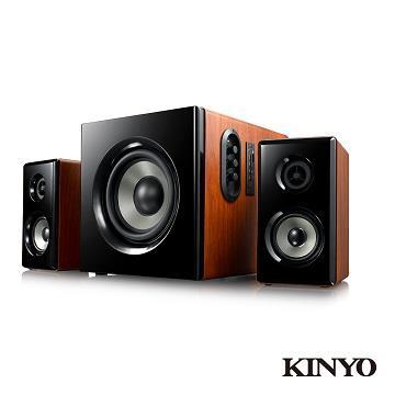 (福利品)KINYO 2.1藍牙多媒體音箱