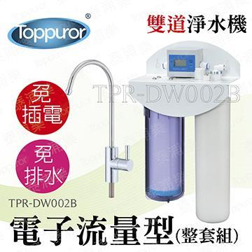 泰浦樂 11吋電子雙道淨水機