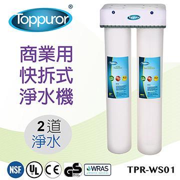 泰浦樂 2道商業用快拆淨水機 TPR-WS01